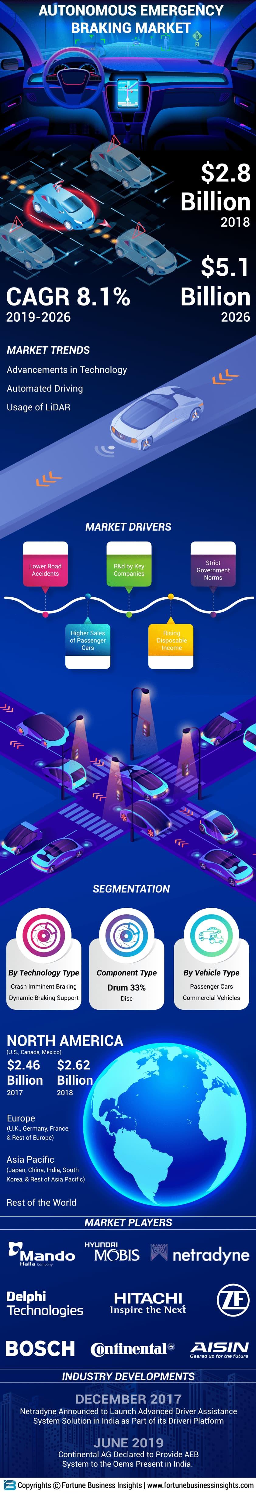Automotive Autonomous Emergency Braking System (Aeb) Market